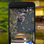Google earth's new knowledge cards